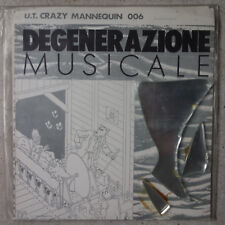 """Degenerazione musicale North South East West 7"""" single Limited to 666 COPIES"""