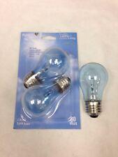 PureLite 60A15 60 Watt Clear Full Spectrum Appliance Light Bulb ReaLite 2-pcs