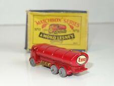 matchbox lesney 11 ERF TANKER ESSO (219) rare small decal