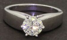 EGL USA Platinum 1.01CT VS diamond solitaire wedding/engagement ring size 5.75