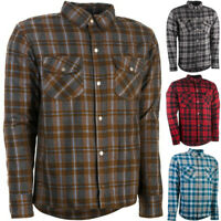 Highway 21 Marksman LE Flannel Armored Mens Street Motorcycle Riding Shirt