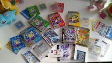 7x POKEMON COMPLETE GAMEBOY JAPANESE GAME SET CIB BOX MANUALS, MAP, CARTRIDGE