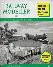 "*RAILWAY MODELLER MAGAZINE -MAY 1961 - ft THE KITMASTER ""CITY OF TRURO"" [U]"