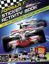F1 Sticker Activity Book, Very Good Condition Book, Carlton Books, ISBN 97817809