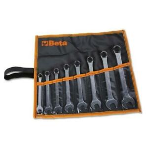 Serie Set di 8 chiavi combinate a testa ribassata 10-19mm Beta 42SLIM/B8I-E