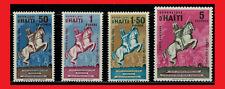 ZAYIX - 1962 Haiti CO6-CO9 MNH - Horses