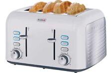 Breville Stainless Steel 4 Slice Toaster - Opula White VTT451