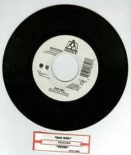 Madonna Bad Girl / Fever 7'' Vinyl Record