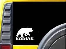 Kodiak Bear K311 6 inch decal kodiak grizzly sticker
