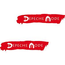2 x Auto car Aufkleber 20cm die cut out Decal Folie Oracal Depeche Mode Spirit