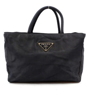 PRADA Nylon handbag black