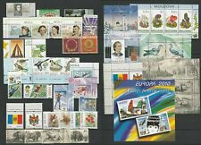 Moldova 2010 Complete year set MNH stamps, blocks, sheets and booklet