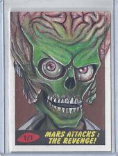 2017 Topps Mars Attacks The Revenge 1/1 Sketch Card by Mohammed Jilani - Martian