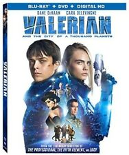 Valerian and the City of a Thousand Planets [New Blu-ray] With Booklet