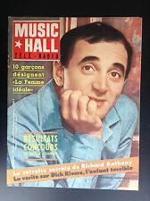Revue Music hall Télé radio N° 23 1963 Aznavour Bardot PROCHE NEUF
