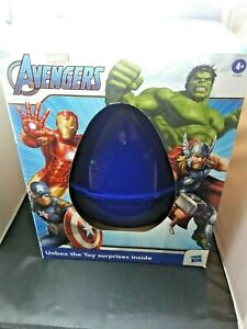 Hasbro Egg Surprise Marvel Avengers Toy Surprises Inside Includes 6 Figures New