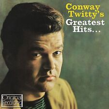 CD CONWAY TWITTY'S GREATEST HITS IT'S ONLY MAKE BELIEVE DANNY BOY HEAVENLY ETC