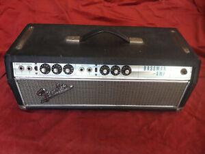 Vintage 1968 Fender Bassman Head - Drip Edge - Silverface