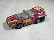 Vintage 1980 Kenner #1027 Fast 111s 6 Wheeled Futuristic Toy Car