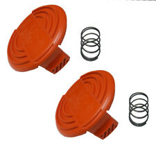Black and Decker 2 Pack Spool Cap & Spring for AFS Trimmer # 385022-03N-2PK