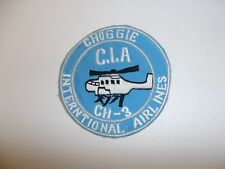 b4000 Cold War US Navy Choggie International Airlines C.I.A CH3 helicopter IR35D