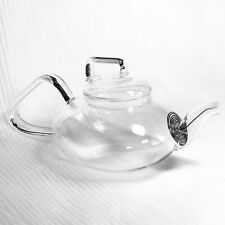 Tupperware TupperLiving Blooming Teapot Clear Glass 17 oz