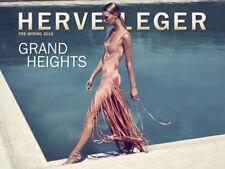NWT HERVE LEGER VITORIA EMBELISHED     BANDAGE DRESS  S $3,290.00