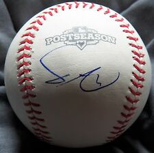 Yu Darvish Rookie Year Signed Rawlings 2012 Postseason Baseball Texas Rangers