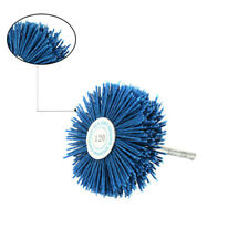 Shank Nylon Wheel Brush Abrasive Polishing Grit CNC Drill Metalworking