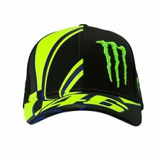 Valentino Rossi VR46 Moto GP Monster Energy Baseball Casquette Officiel 2019