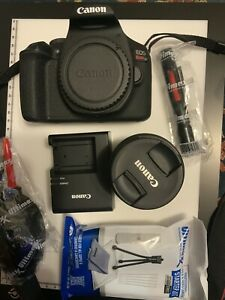 Canon EOS Rebel T7 24.1MP Digital Camera - Black (Kit with 18-55mm and...