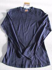 Icebreaker Women 200 Oasis Small Base Layer Black Merino Wool New