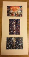 Northern Soul; Wigan Casino; Northern Soul Dancers; - 3 mounted prints