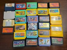 Famicom Game Lot - 27 Games - Tested - Some Bootleg & Authentic