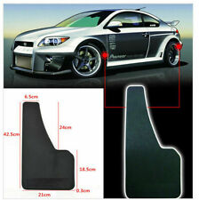 2PCS UNIVERSAL 3D CARBON FIBER CAR MUDFLAPS MUD GUARD MUDGUARDS FENDER