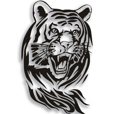 Large Creative Personality Tiger Reflective Car Hood Spare Decoration Sticker
