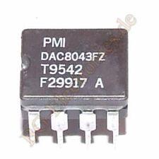 1 x DAC8043FZ 12-Bit Serial Input Multiplying CMOS D/A Convert PMI DIP-8 1pcs