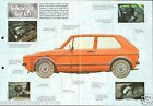 VW Volkswagen Golf GTI 4 Cyl. 16 Soupapes 1976 Germany Auto Retro FICHE FRANCE