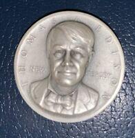 Medallic Art Co .999 Silver Medal Coin ~ Thomas Edison New Jersey