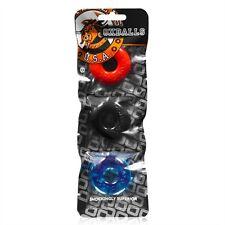 Oxballs OX The Ringer 3 Pack Stack-em Ball Stretcher Rings/C-rings MULTI Oxball