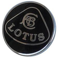 Lotus lapel pin - all black finish