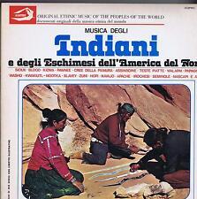 2 LP ALBATROS ESKIMO OF NORTH AMERICA MUSICA DEGLI INDIANI