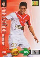 MATHIEU COUTADEUR #  AS.MONACO TRADING CARDS ADRENALYN PANINI FOOT 2010