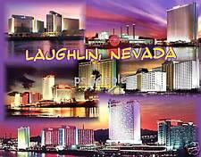 Nevada - LAUGHLIN - Travel Souvenir Flexible Fridge Magnet