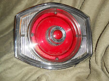 1965 FORD CUSTOM 500 65 AFD AUTOMOBILE AUTO CAR TAIL LIGHT LENS ASSEMBLY