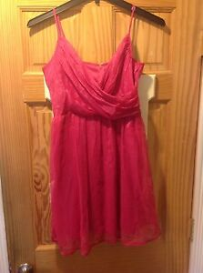 Fuchsia Junior's Dress - Charlotte Russe - Size L - New With Tags