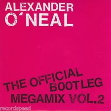"★★ 7"" - Alexander O 'Neal-The Official Bootleg Mega Mix Vol. 2"