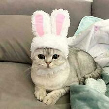 Cat Bunny Rabbit Ears Cap Hat Pet Cosplay Costumes Party For Cat Small Dogs C2T2