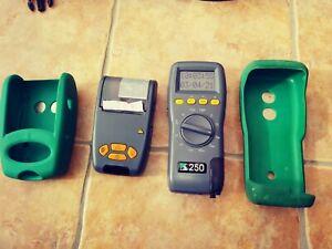 Kane 250 used Flue Gas Tester and Printer  kit