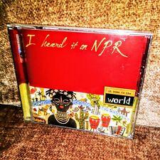 I Heard It on NPR: At Home in the World (HDCD) - Cassandra Wilson.Edith Piaf~NEW